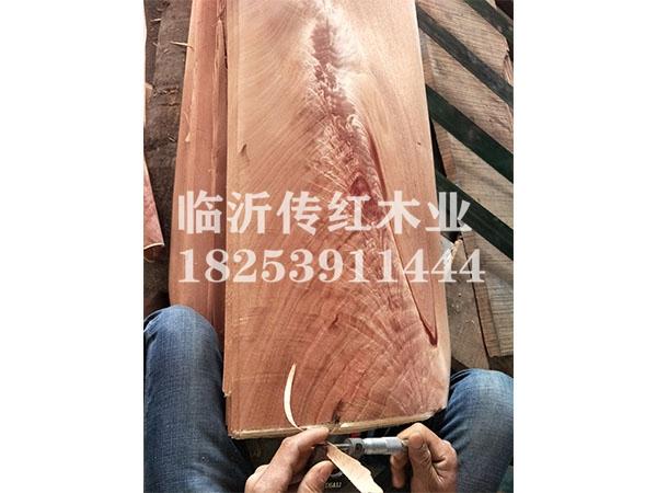 红胡桃树杈单板